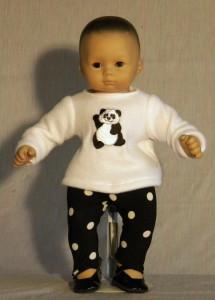 Panda Tunic & Pants