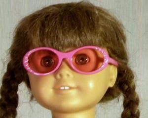 Pink Rhinestone Glasses
