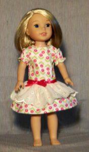 363 - WW Spring Drop-waist Dress