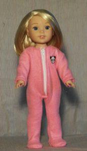 371 - WW Fleece Footed Pajamas